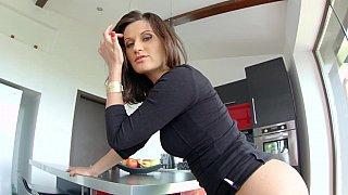 Madlin preparing her ass
