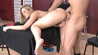 Fucking with her married customer