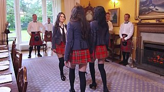 Teacher takes British babe Samantha Bentley
