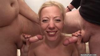 Emma the German gangbang slut