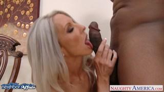 Busty blonde Emma Starr take neighbor cock