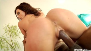 Kendra Lust first interracial fucking gets a bbc