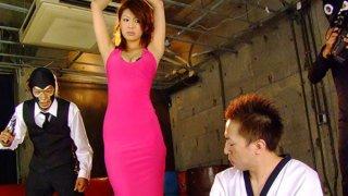 Dirty spy Runa Sesaki gets caught and rammed
