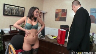 Charley Chase signs the fucking agreement with Bruce Venture