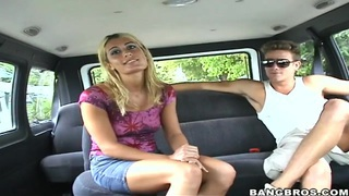 Amateur babe Sheila must suck some dirty dicks for money