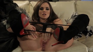 Adorable Tori Black teases with her tigh tass