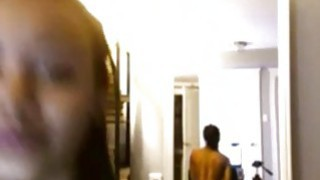 Gorgeous ebony teen with oiled body