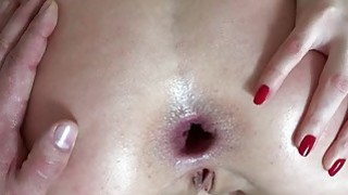 Russian blond gf Lucy Heart anal try out