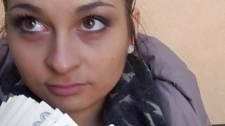 Exploding sticky cum inside hot amateur
