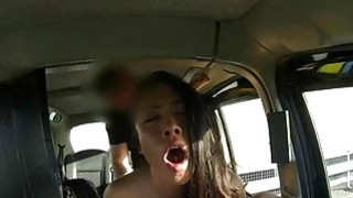 Kinky customer drilled by fraud driver