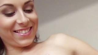 Sexy Antonia receives a messy cumshot