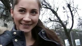 Czech slut Aruna Aghora drilled for cash