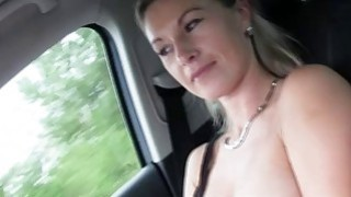 hitchhiker blonde Alena hot