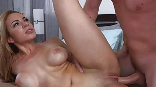 Latina maid Kylie Rogues creamy pussy