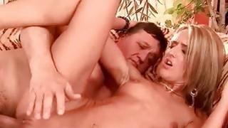 Fat grandpa fucking pretty hot young blonde