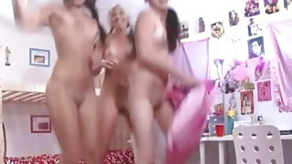 Two girlsongirls licking pussies themself