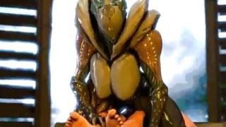 3D Female Aliens Fucking Big Cocks!