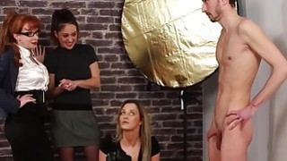 Horny Bloke Came To A Casting
