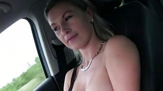 Teen Alena pays sex to a pervy driver