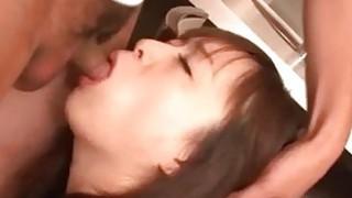 Cum in mouth for cock sucking Nozomi Hazuki