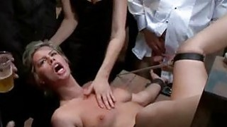 Gal is punished in public for being such a doxy