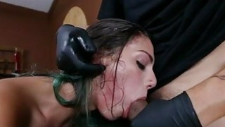 Cute Gina Valentina dominated and fucked