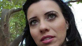 Eurobabe Vicky Love picked up and banged