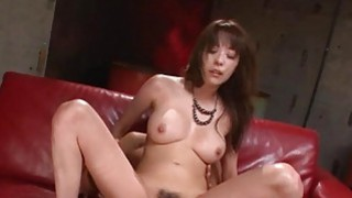 Japanese babes muff is wet from uncouth banging
