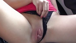 Sexy babe pursuaded to suck and fuck