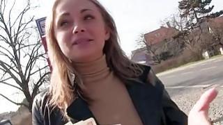 Ivana Sugar flashing for a stranger