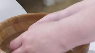 Lesbian teen masseuse fingers busty blonde