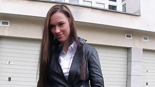 Eurobabe Victoria Rose pounded for cash