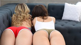 Seriously hot girl on girl action