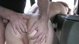 European redhead drilled by nasty driver