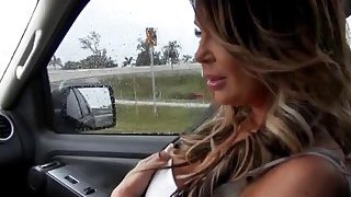 Perfect MILF Nikki gets asshole rimmed and pussy fucked hard