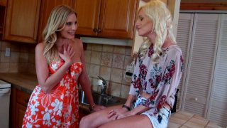 Sister while girlfriend is the kitchen hot porn