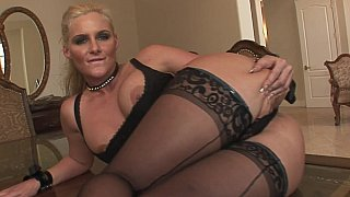 MILF spreading and fingering her juicy holes